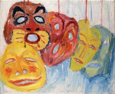 Mask Still Life I
