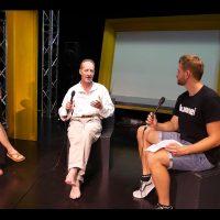 Interview mit Maikrofon – Kultur im Norden