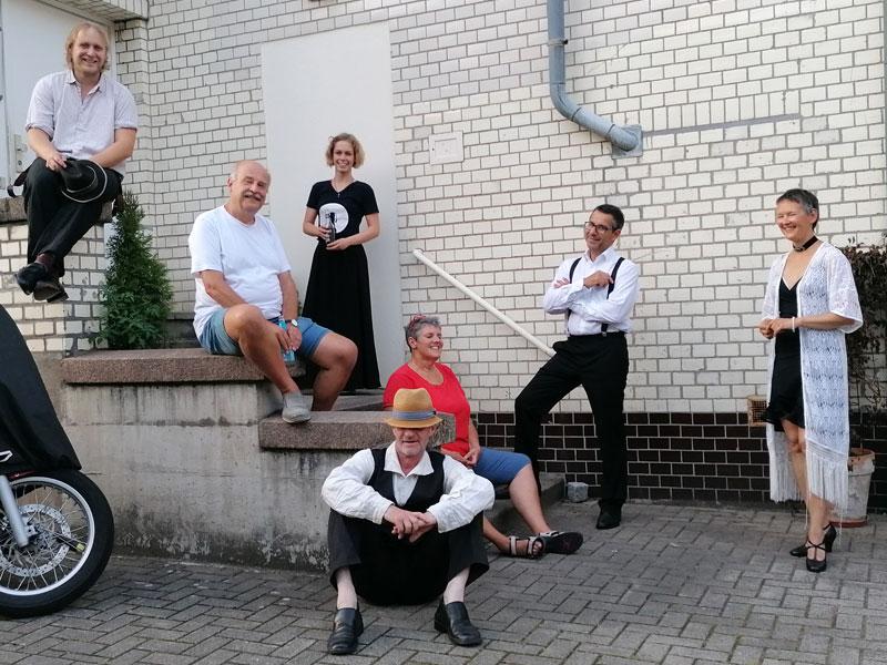 Theaterprobe Noldeprojekt